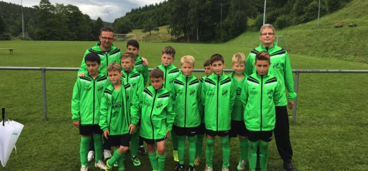 E1-Junioren des JFV Ulfetal Vize-Kreismeister