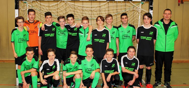 C-Junioren in der Futsal Endrunde